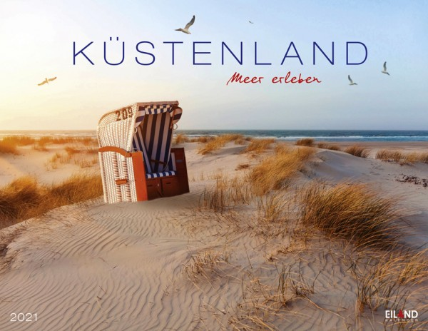 Küstenland - Meer erleben 2021 - Bildkalender