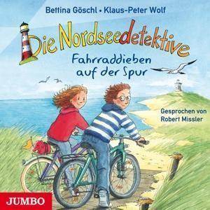 Die Nordseedetektive 4 - Fahrraddieben auf der Spur (Audio-CD) Klaus-Peter Wolf & Bettina Göschl