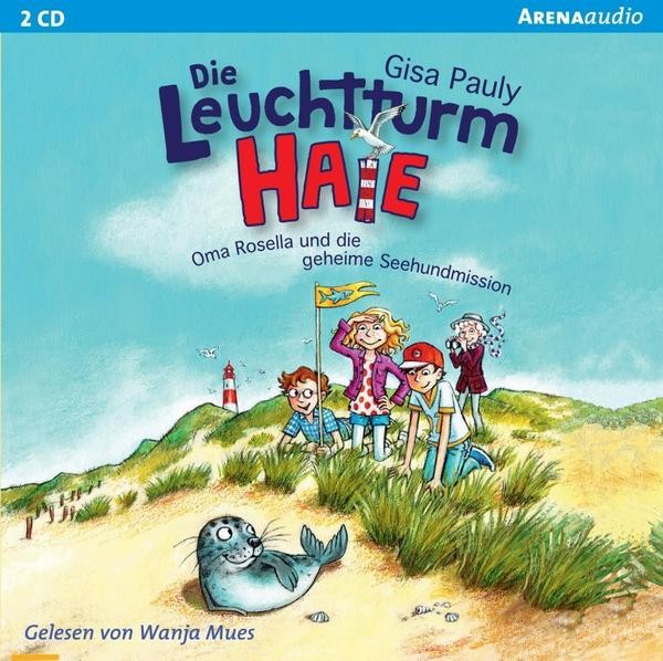 Die Leuchtturm-HAIE 1 - Oma Rosella und die geheime Seehundmission (Audio-CD) - Gisa Pauly