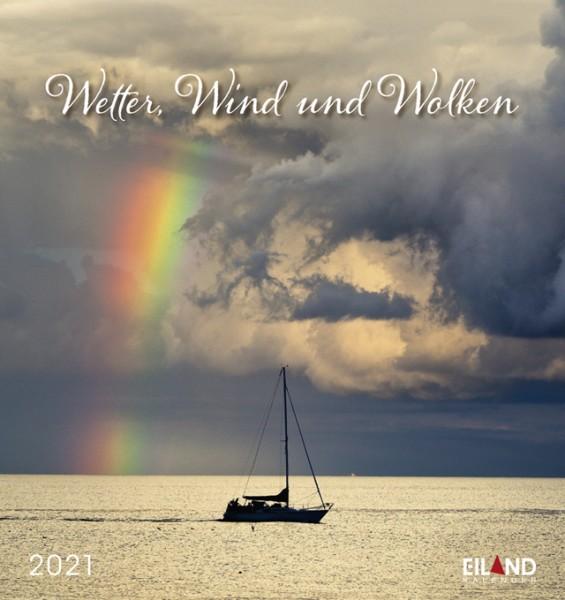 Wetter, Wind und Wolken - Postkartenkalender 2021