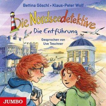 Die Nordseedetektive 7 - Die Entführung (Audio-CD) von Klaus-Peter Wolf & Bettina Göschl