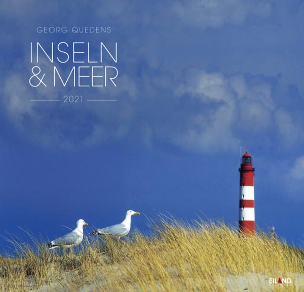 Inseln & Meer 2021 Großformatkalender, Georg Quedens
