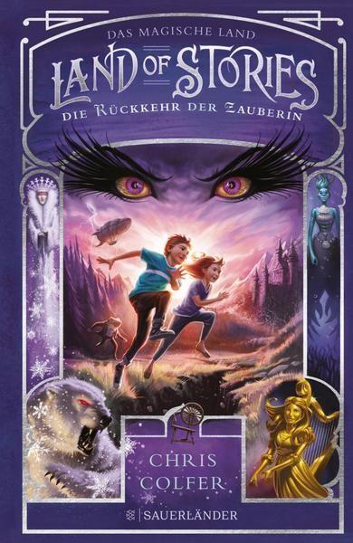 Land of Stories: Das magische Land 2 - Die Rückkehr der Zauberin - Chris Colfer