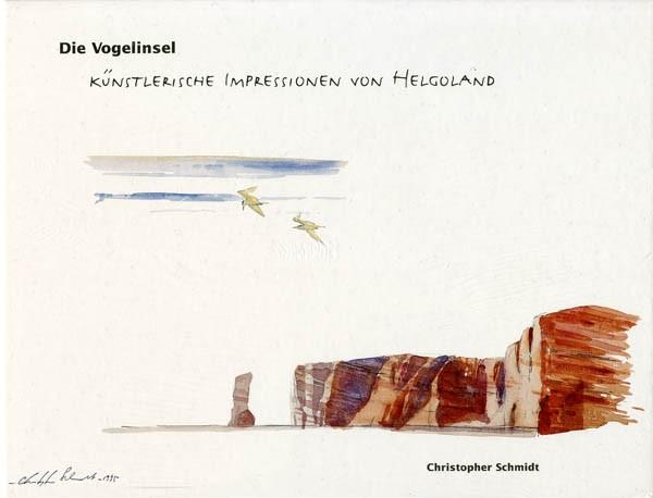 Die Vogelinsel - Künstlerische Impressionen von Helgoland
