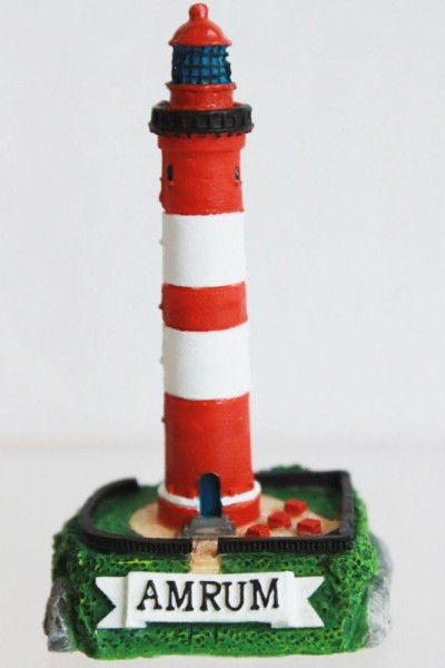 """Poly Leuchtturm """"Amrum"""" 6cm"""