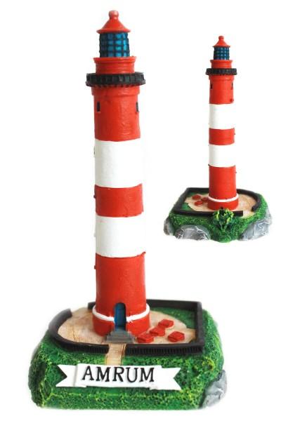 """Poly Leuchtturm """"Amrum"""" 15cm"""