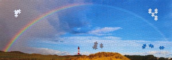 1000-Teile Puzzle Amrumer Leuchtturm