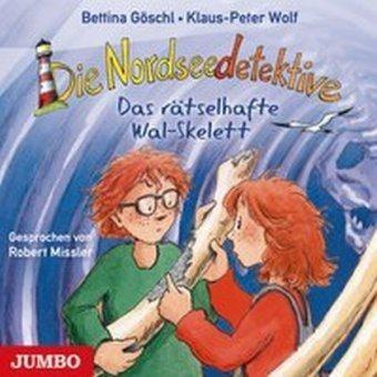 Die Nordseedetektive 3 - Das räselhafte Wal-Skelett (Audio-CD) Klaus-Peter Wolf & Bettina Göschl