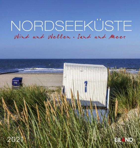 Nordseeküste - Postkartenkalender 2021 - Wind & Wellen, Sand & Meer
