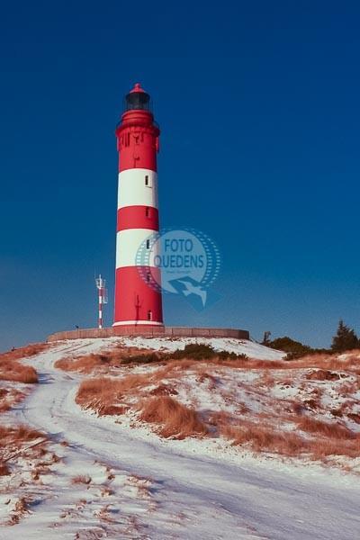 Amrumer Leuchtturm im Winter