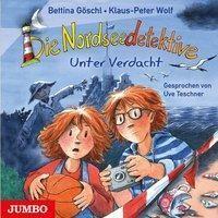 Die Nordseedetektive 6 - Unter Verdacht (Audio-CD) von Klaus-Peter Wolf & Bettina Göschl