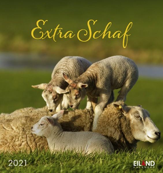 Extra Schaf 2021 - Postkartenkalender