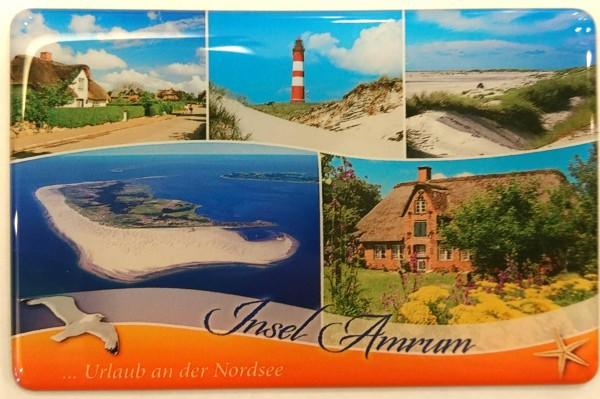 Flexi-Magnet Insel Amrum... Urlaub an der Nordsee